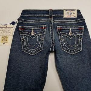 NEW Women's True Religion Jeans Size 24 Bootcut